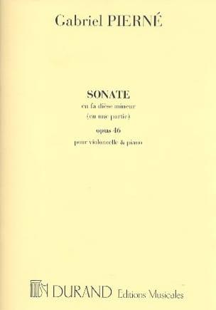 Sonate en Fa Dièse Min.Op.46 - Gabriel Pierné - laflutedepan.com
