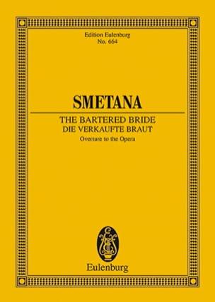 Bedrich Smetana - La Fiancée vendue, Ouverture - Conducteur - Partition - di-arezzo.fr