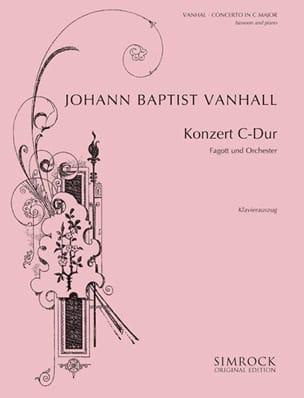 Konzert C-Dur -Fagott Klavier Johann Baptist Vanhal laflutedepan