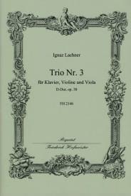 Ignaz Lachner - Trio Nr. 3 D-Dur op. 58 - Partition - di-arezzo.fr