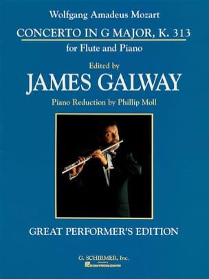 Concerto n°1 in G maj. KV 313 - Flute piano - laflutedepan.com