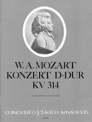 Flötenkonzert D-Dur KV 314 – Flöte Klavier - laflutedepan.com