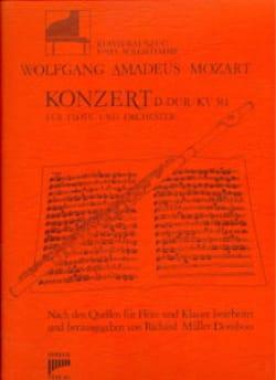Konzert D-Dur KV 314 - Flöte Klavier - MOZART - laflutedepan.com
