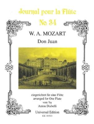 Mozart Wolfgang Amadeus / Diabelli Antonio - Don Juan - Flöte Solo - Partition - di-arezzo.fr
