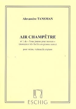 Alexandre Tansman - We play for Mom - No. 1: Country Air - Sheet Music - di-arezzo.co.uk