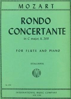 Rondo concertante in C major KV 269 - Flute piano MOZART laflutedepan