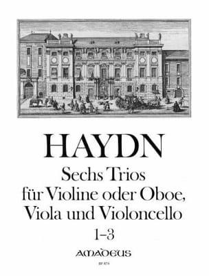 HAYDN - 6 Trios Bd. 1 - Stimmen - Sheet Music - di-arezzo.com