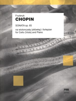 Sonata op. 65 - Cello or Viola CHOPIN Partition laflutedepan