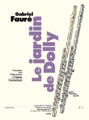 Le jardin de Dolly -2 flûtes et piano laflutedepan