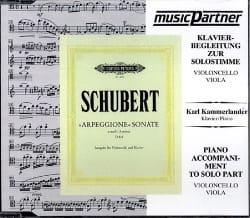 Sonate Arpeggione - D.821 / CD - SCHUBERT - laflutedepan.com