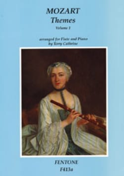 MOZART - Themes, Volume 1 - Flute and piano - Sheet Music - di-arezzo.co.uk