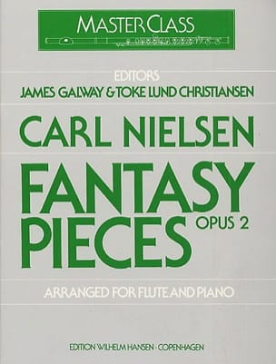 Carl Nielsen - Fantasy pieces op. 2 - Flute piano - Partition - di-arezzo.co.uk