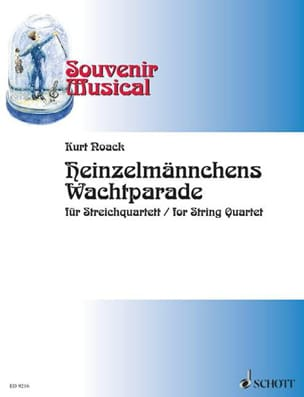 Heinzelmännchens Wachtparade - Streichquartett - laflutedepan.com