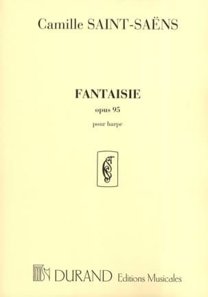 Camille Saint-Saëns - Fantasy op. 95 - Harp - Sheet Music - di-arezzo.co.uk