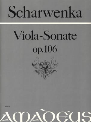 Philipp Scharwenka - Sonate pour Alto op. 106 - Partition - di-arezzo.fr