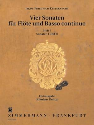 4 Sonaten - Bd. 1 - Flöte und Bc laflutedepan