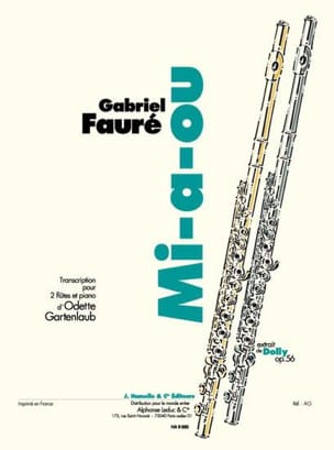 Fauré Gabriel / Gartenlaub Odette - Mid-or-2 flutes and piano - Sheet Music - di-arezzo.com