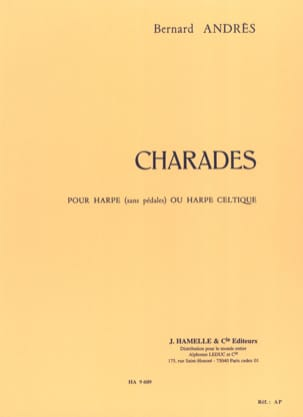Bernard Andrès - charades - Sheet Music - di-arezzo.co.uk
