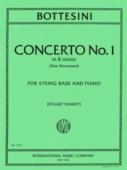 Giovanni Bottesini - Concerto n°1 in B minor – String bass - Partition - di-arezzo.fr