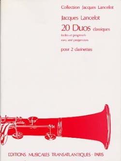 20 Duos classiques Jacques Lancelot Partition laflutedepan