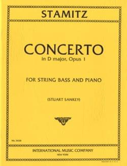 Concerto in D major, op. 1 – String bass - laflutedepan.com