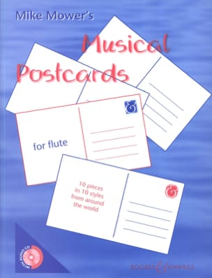 Mike Mower - Musical Postcards for Flute - Sheet Music - di-arezzo.co.uk
