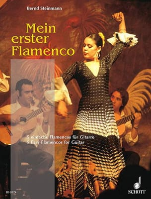 Bernd Steinmann - Mein erster Flamenco - Guitare - Partition - di-arezzo.fr
