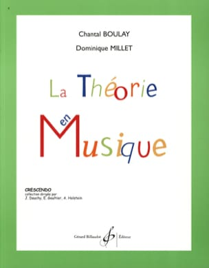 BOULAY - MILLET - The Music Theory - Partitura - di-arezzo.it