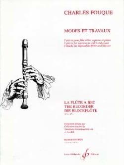 Modes et Travaux - Charles Fouque - Partition - laflutedepan.com