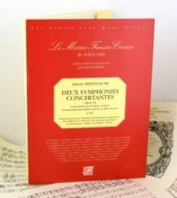 Isidore Bertheaume - 2 Symphonies concertantes op. 6 - Fac Similé - Sheet Music - di-arezzo.com