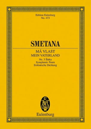Sarka - Ma Vlast N° 3 - Bedrich Smetana - Partition - laflutedepan.com