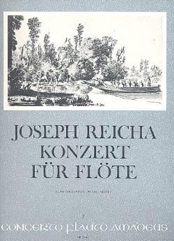 Konzert für Flöte - Flöte Klavier Joseph Reicha Partition laflutedepan
