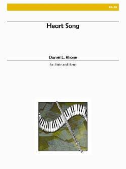 Daniel L. Rhone - Heart Song - Partition - di-arezzo.fr