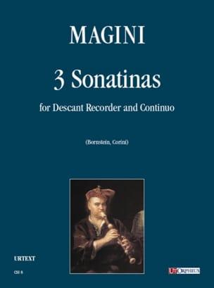 Francesco Magini - Tre Sonatine - Sheet Music - di-arezzo.com