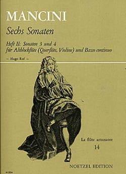 6 Sonaten - Heft 2 : Nr. 3 und 4 - Altblockflöte - laflutedepan.com