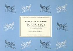 Benedetto Marcello - Sonata F Hard - Altblockflöte Querfl. u. Bc - Sheet Music - di-arezzo.co.uk