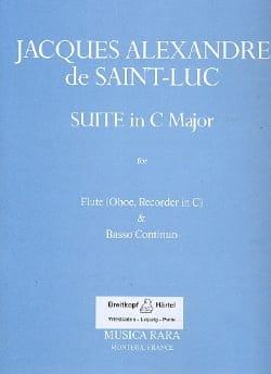 Suite in C major - Flute oboe, recorder in C Bc - laflutedepan.com