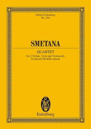 Bedrich Smetana - Streich-Quartett D-Moll N° 2 - Partition - di-arezzo.fr