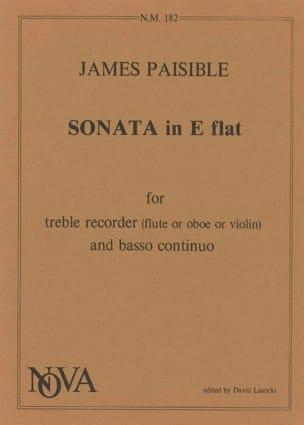 James Paisible - Sonata in E flat - Partition - di-arezzo.fr