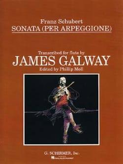 Sonata Arpeggione - Flute piano SCHUBERT Partition laflutedepan