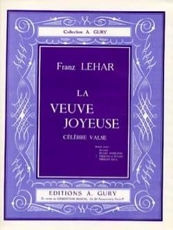 La Veuve Joyeuse - Franz Lehar - Partition - Violon - laflutedepan.com