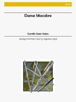 Danse macabre op. 40 - Flute choir SAINT-SAËNS Partition laflutedepan