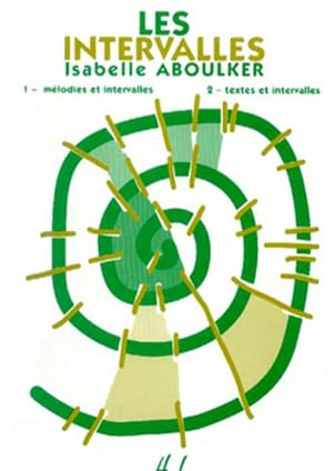 Isabelle Aboulker - The intervals - Sheet Music - di-arezzo.com