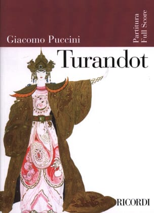 Giacomo Puccini - Turandot new edition - Score - Sheet Music - di-arezzo.co.uk