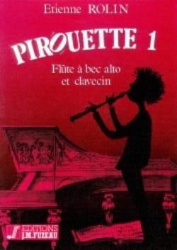 Pirouette 1 - Etienne Rolin - Partition - laflutedepan.com