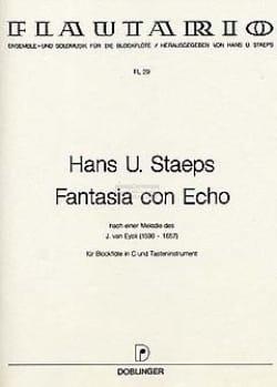 Fantasia con echo - Hans Ulrich Staeps - Partition - laflutedepan.com