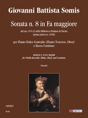 Giovanni Battista Somis - Sonata in fa maggiore - Sheet Music - di-arezzo.com