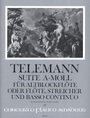 Suite a-moll - Altblockflöte TELEMANN Partition laflutedepan
