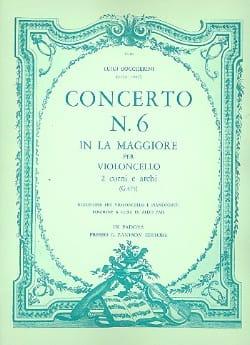 BOCCHERINI - Concerto No. 6, a major G.475 - Sheet Music - di-arezzo.co.uk