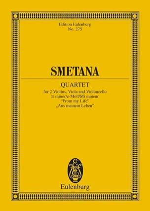 Streich-Quartett E-Moll N° 1 - Bedrich Smetana - laflutedepan.com